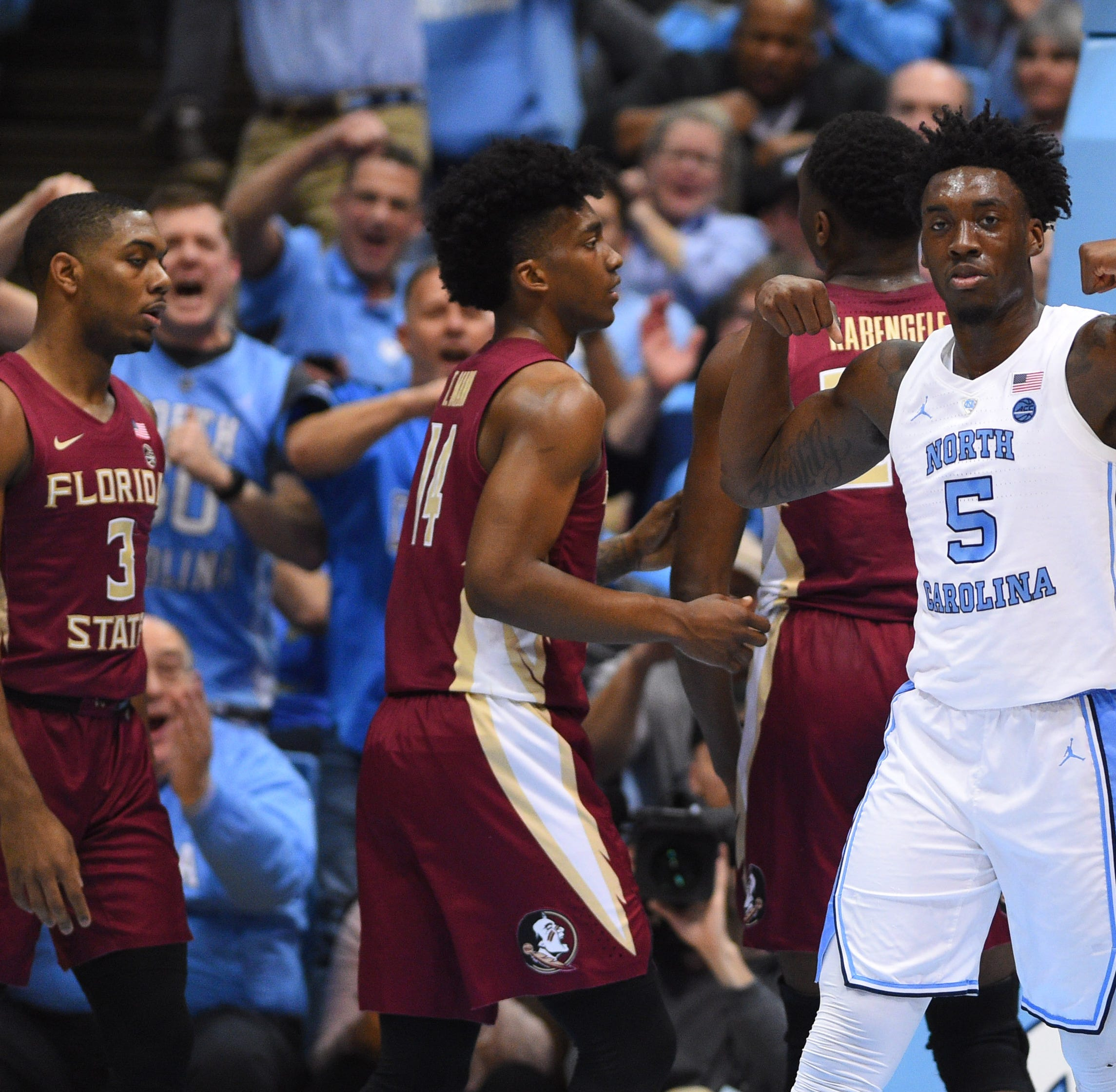 Florida State's winning streak ends with blowout loss to North Carolina