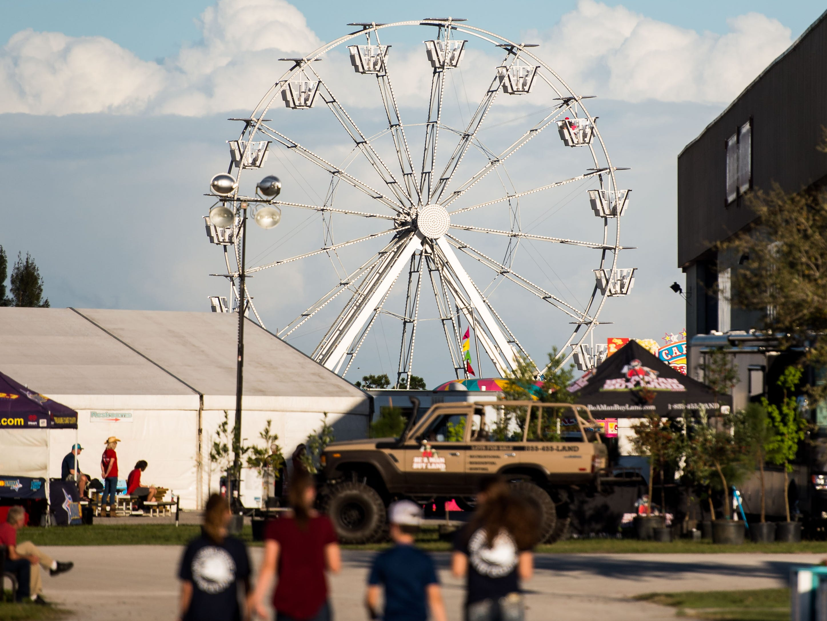 The 54th annual St. Lucie County Fair is seen opening night Friday, Feb. 22, 2019, at the St. Lucie County Fairgrounds at 15601 West Midway Road in Fort Pierce. For more information on the fair, which runs through March 3, go to www.stluciecountyfair.org.