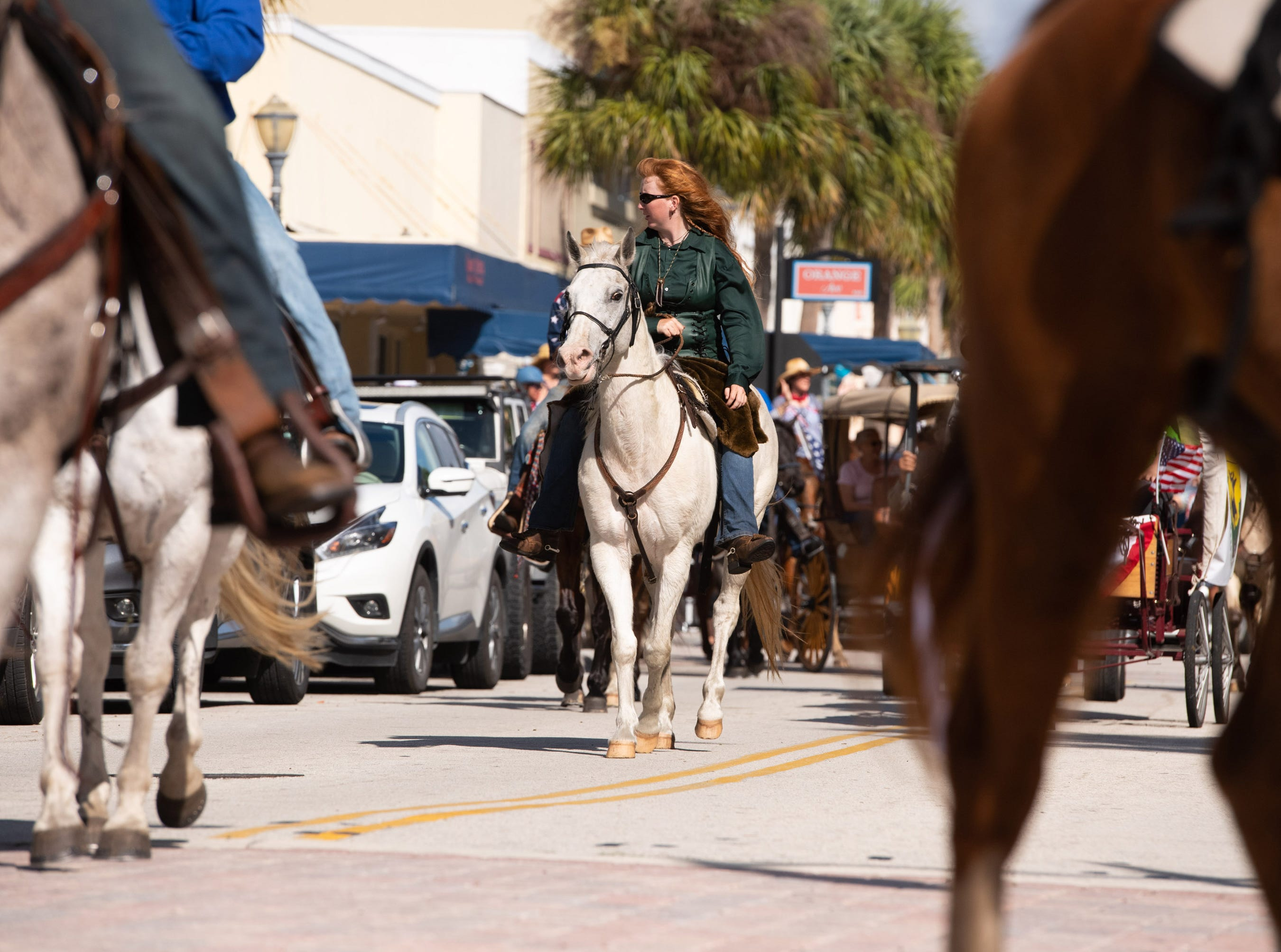 The 32nd annual Florida Cracker Trail Ride across the state parade finalizing the end of the ride takes place Saturday, Feb. 23, 2019, in Fort Pierce.
