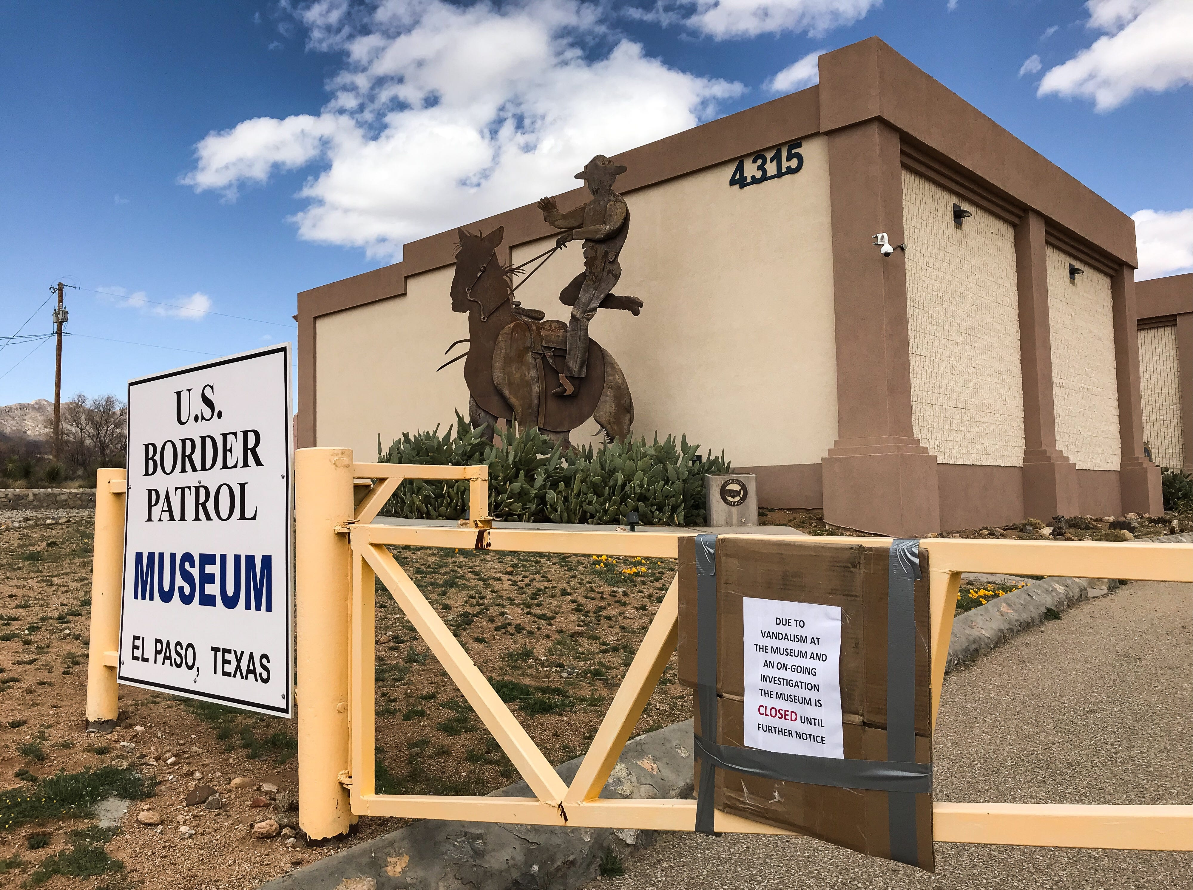 National Border Patrol Museum closes due to damage after migrant advocates'  protest