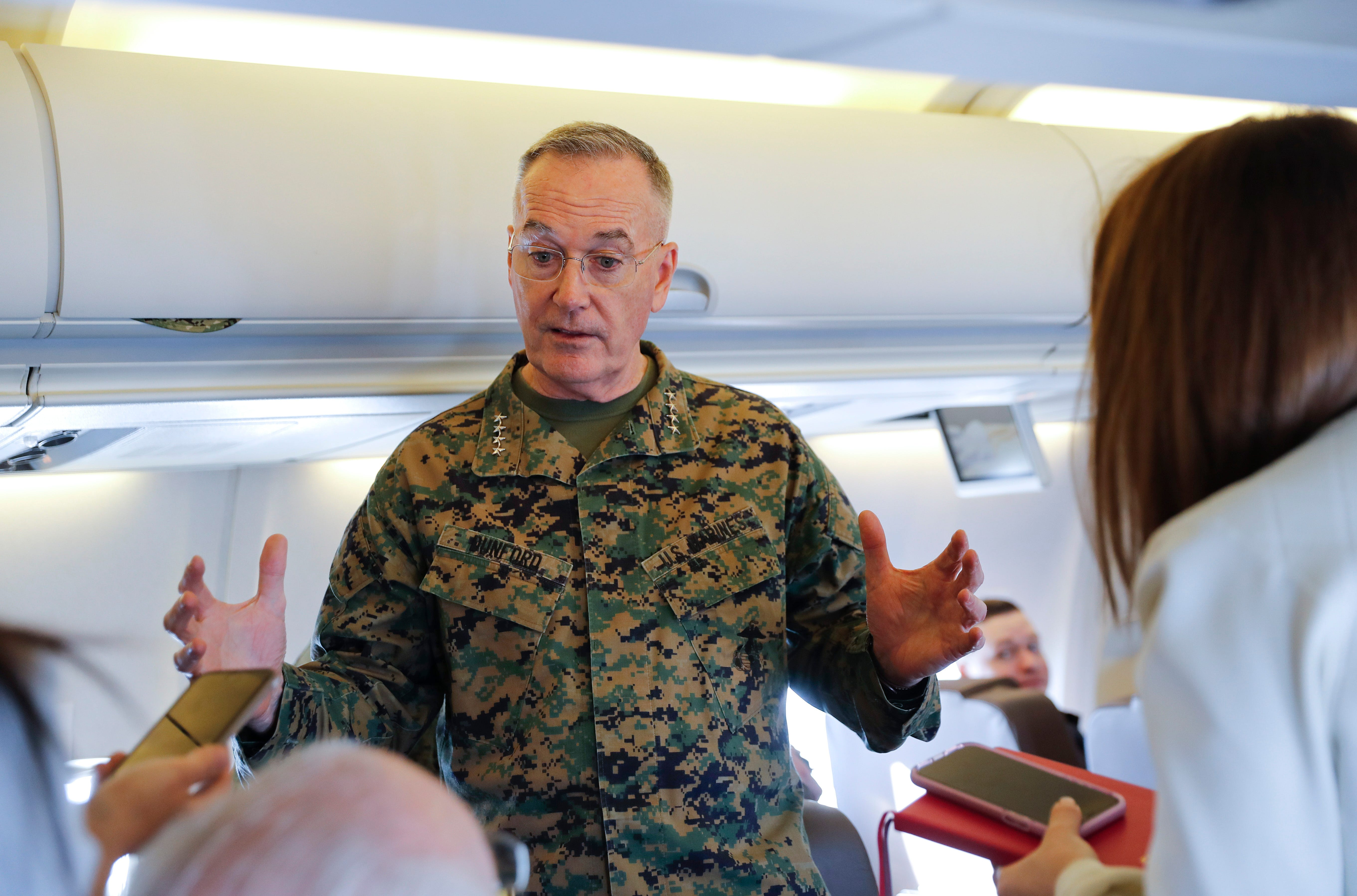 Top defense officials tour El Paso area as military studies how to divert funds for wall | El Paso Times