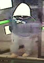 A robber threatened employees at Howdy's and 7-Eleven convenience stores on Feb. 18-19, 2019.