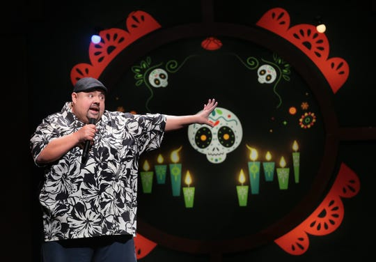 "Gabriel ""Fluffy"" Iglesias performs at the Don Haskins Center to a sold-out crowd. Fluffy and friends brought a night of laughter to El Paso as part of his ""Beyond the Fluffy World Tour 2019."""