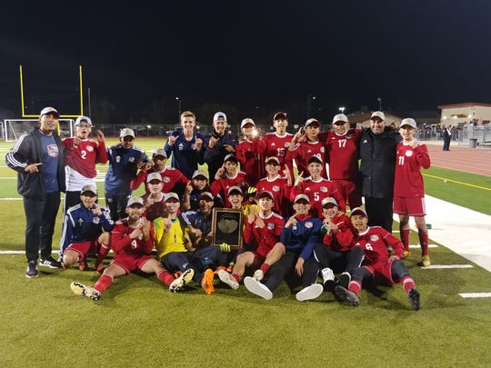 The Tulare Western High boys soccer team is the 2019 Central Section Division II champions.