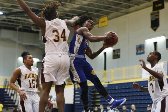 MLK defeated Biondi 65-61 to win the Section 1 Class D championship at Pace University in Pleasantville Feb. 22,  2019.