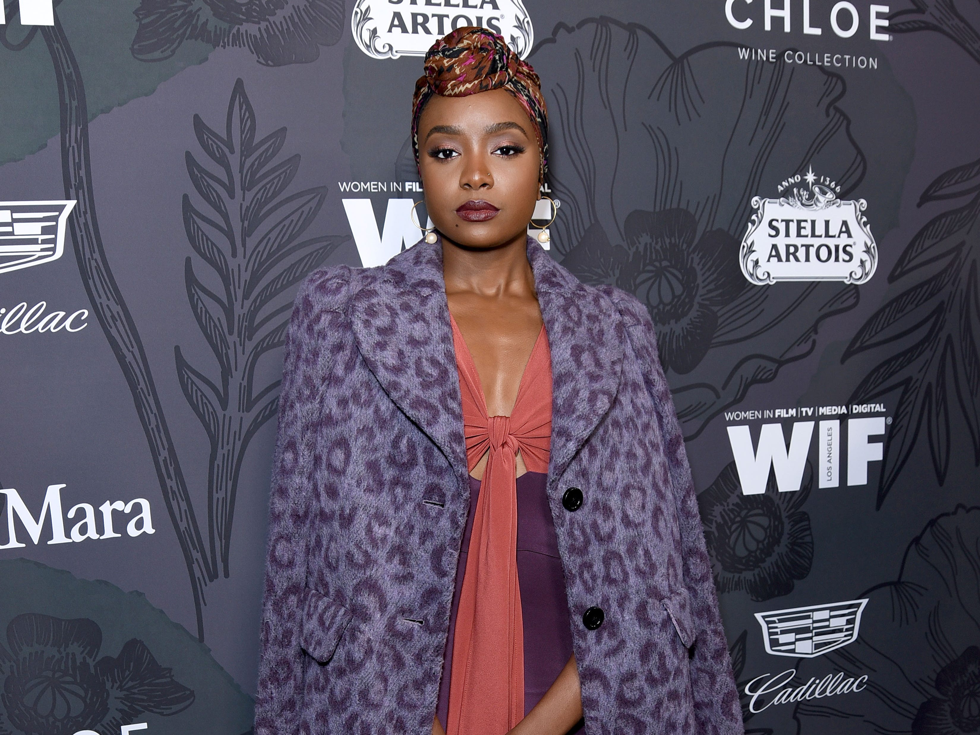BEVERLY HILLS, CALIFORNIA - FEBRUARY 22: KiKi Layne attends the 12th Annual Women in Film Oscar Nominees Party Presented by Max Mara with additional support from Chloe Wine Collection, Stella Artois and Cadillac at Spring Place on February 22, 2019 in Los Angeles, California. (Photo by Presley Ann/Getty Images for Women In Film) ORG XMIT: 775291745 ORIG FILE ID: 1131514293