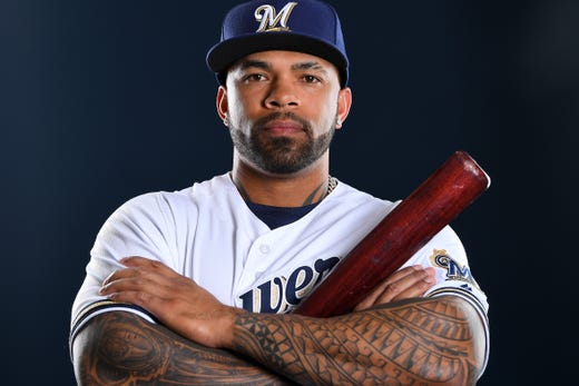 Eric Thames, Brewers