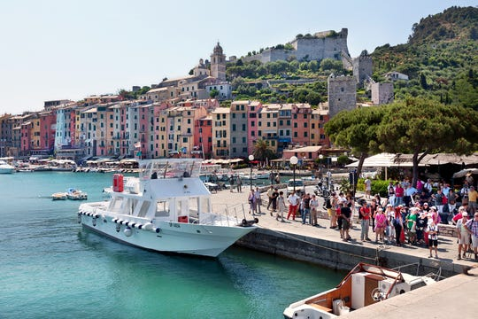 Porto Venere is the perfect jumping-off point for scenic boat rides along the Italian Riviera.