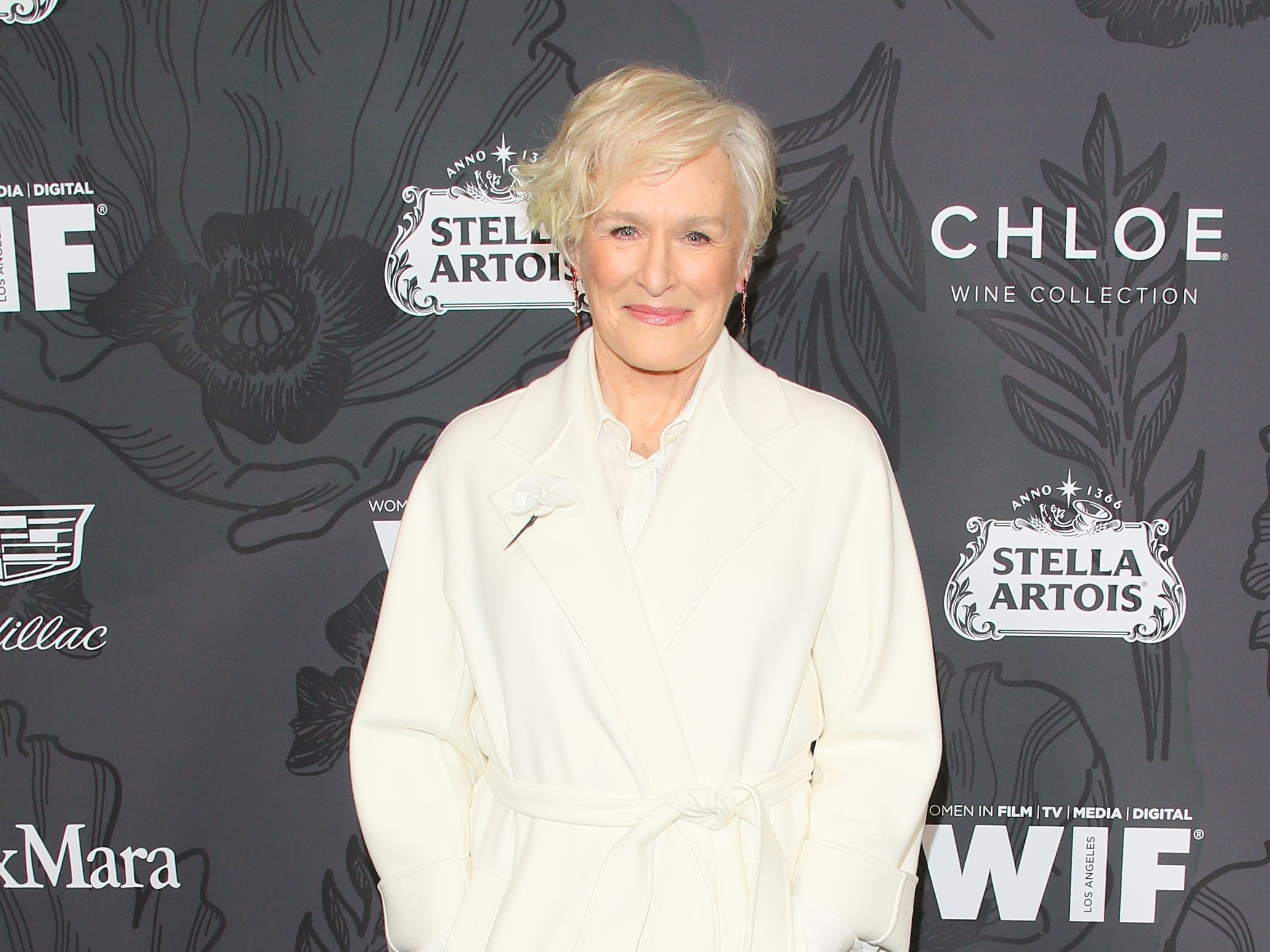 BEVERLY HILLS, CALIFORNIA - FEBRUARY 22: Glenn Close attends the 12th Annual Women In Film Oscar Party at Spring Place on February 22, 2019 in Beverly Hills, California. (Photo by JB Lacroix/WireImage) ORG XMIT: 775298179 ORIG FILE ID: 1126776063