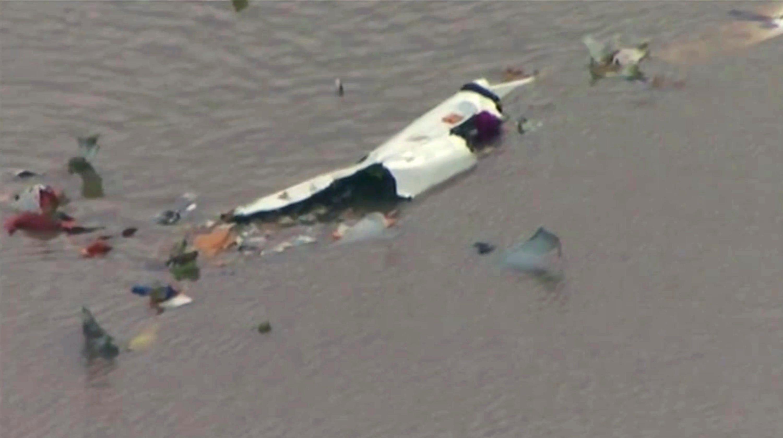 Cargo Plane Crashes Outside Houston Leaving 'Total Devastation'
