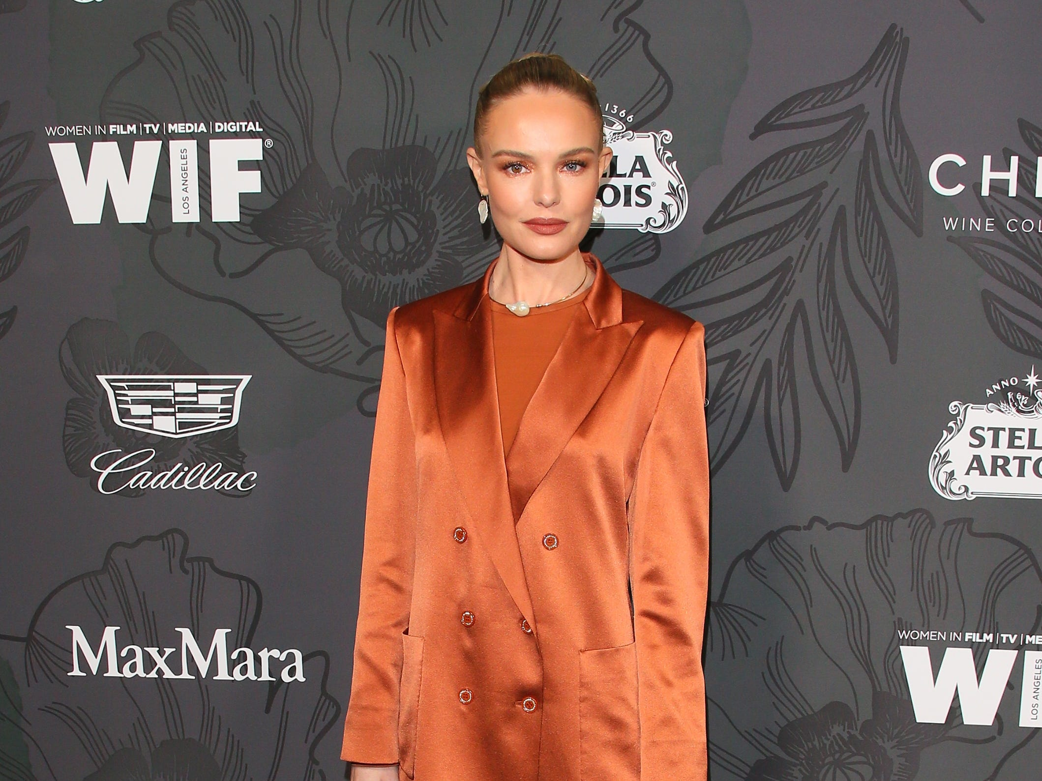 BEVERLY HILLS, CALIFORNIA - FEBRUARY 22: Kate Bosworth attends the 12th Annual Women In Film Oscar Party at Spring Place on February 22, 2019 in Beverly Hills, California. (Photo by JB Lacroix/WireImage) ORG XMIT: 775298179 ORIG FILE ID: 1126776057