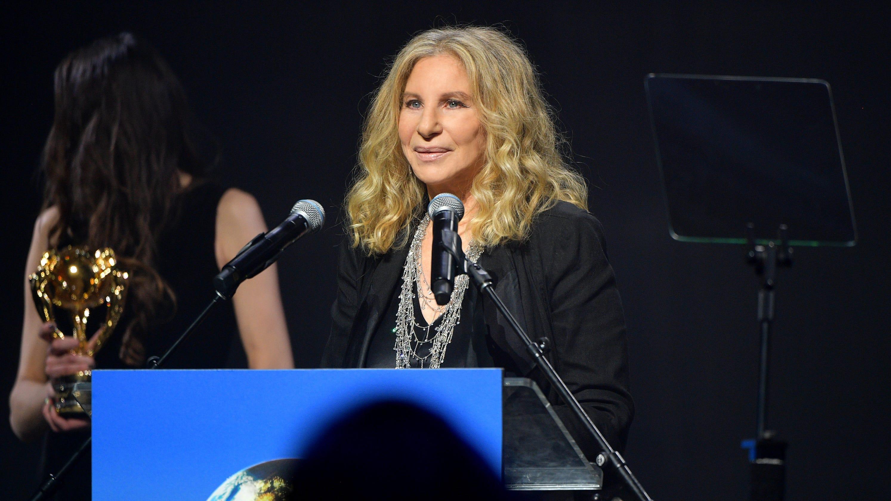 Barbra Streisand calls Trump 'one-man weapon of mass destruction' in scathing column