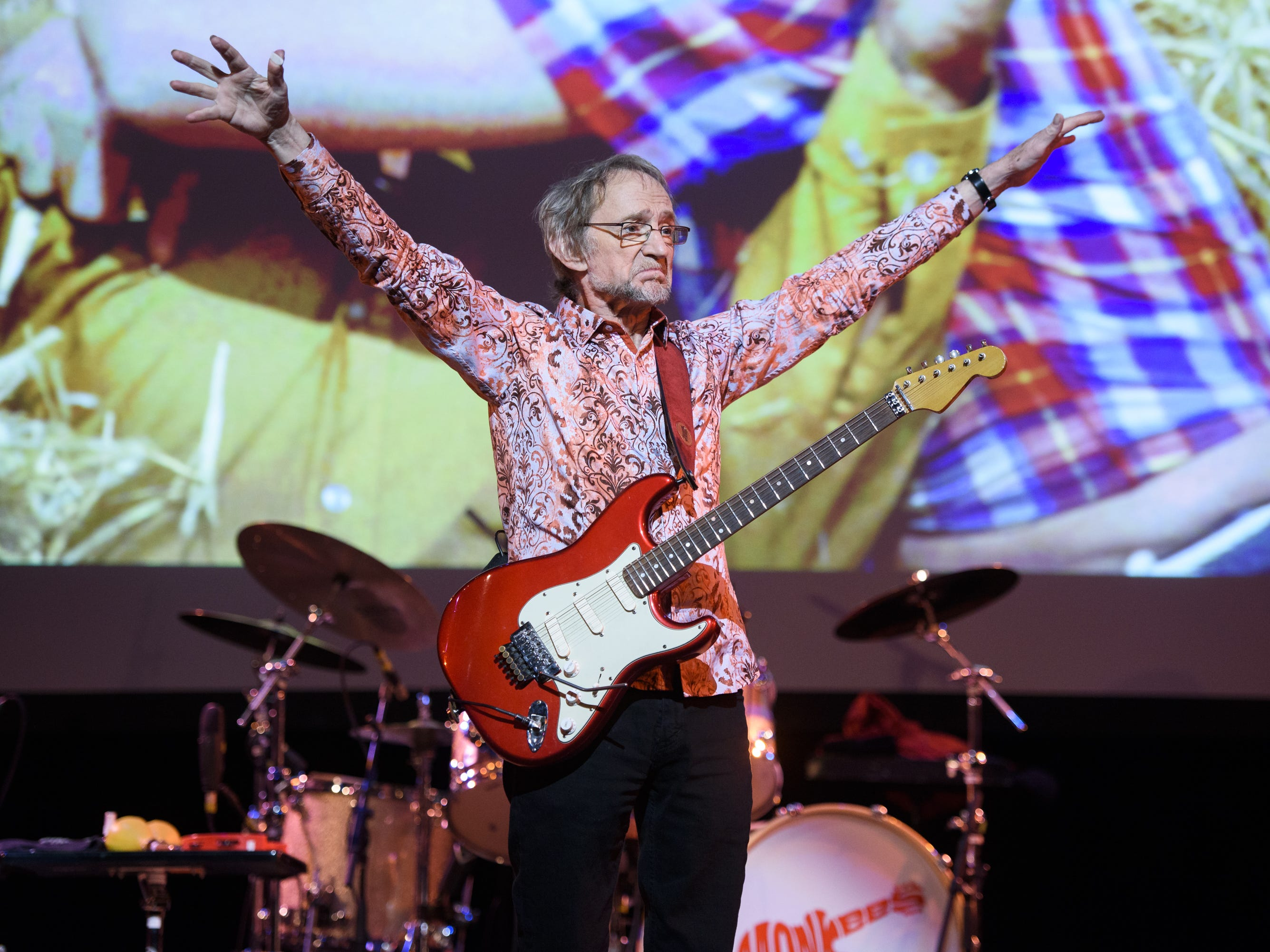 Peter Tork of The Monkees performs live on stage at Town Hall on June 1, 2016 in New York City. Tork, who rocketed to teen idol fame in 1965 playing the lovably clueless bass guitarist in the made-for-television rock band The Monkees, died Thursday, Feb. 21, 2019, of complications related to cancer, according to his son Ivan Iannoli. He was 77.