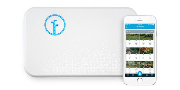 No green thumb necessary with this smart sprinkler system.