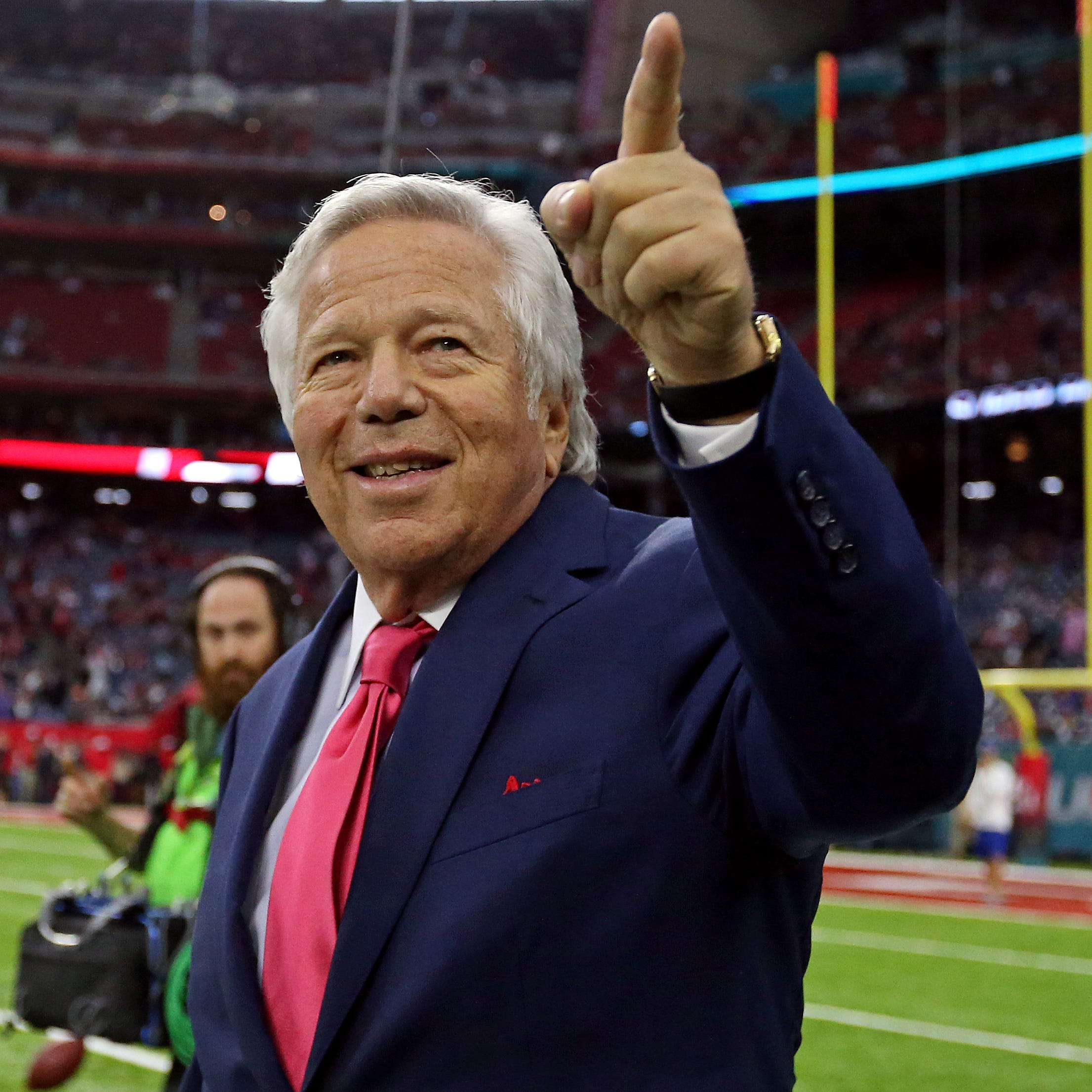 Former owner of spa where deputies said Robert Kraft solicited prostitution was at Trump Super Bowl party