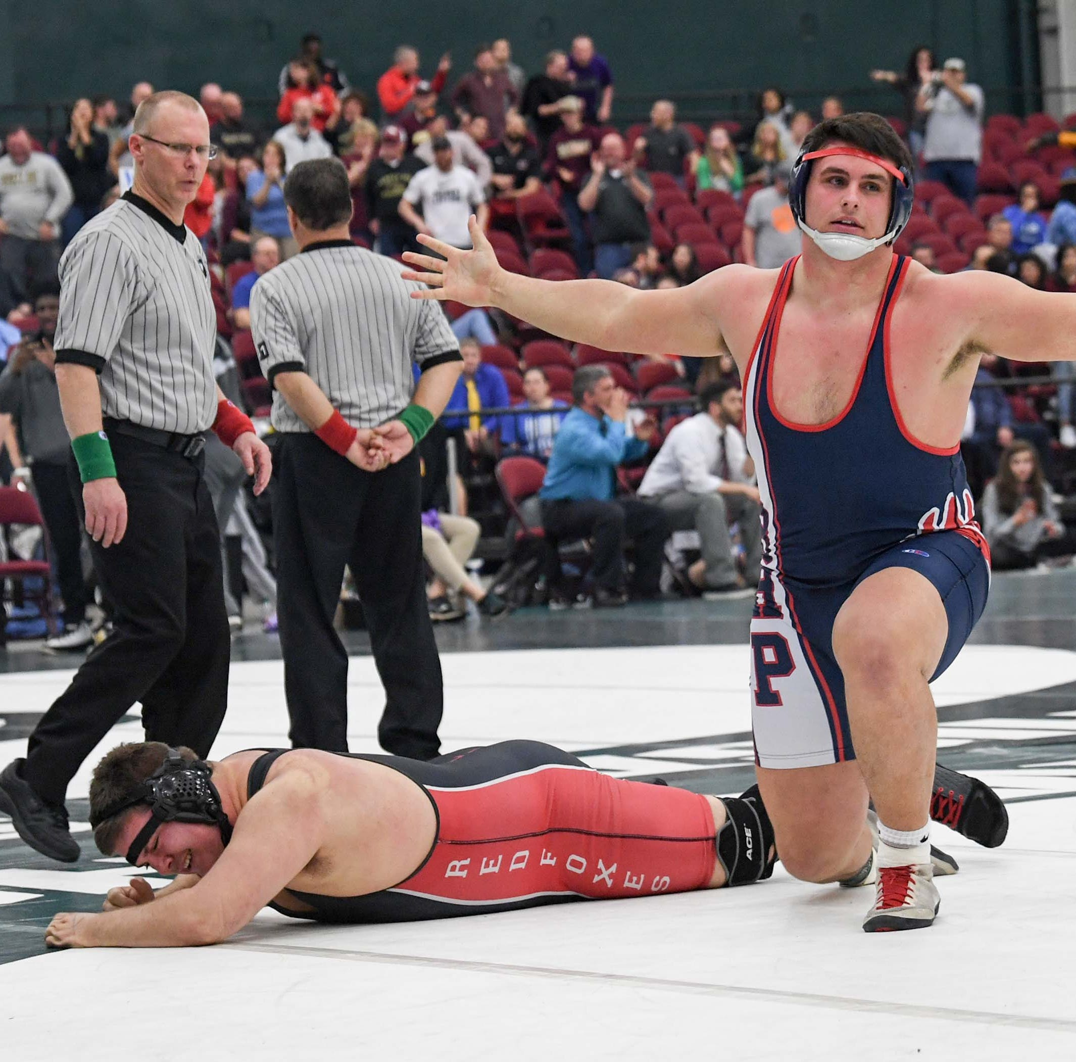 From early falls to a final pin: BHP's Avery Reece earns state wrestling title