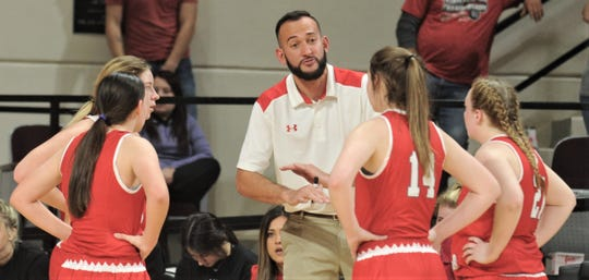 Hermleigh's Duane Hopper, a former Hardin-Simmons standout, has led his team to the state girls basketball tournament his first two seasons as a coach.