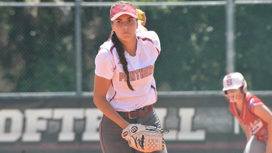 Melanie Murphy of Florida Tech pitched a perfect game Saturday.