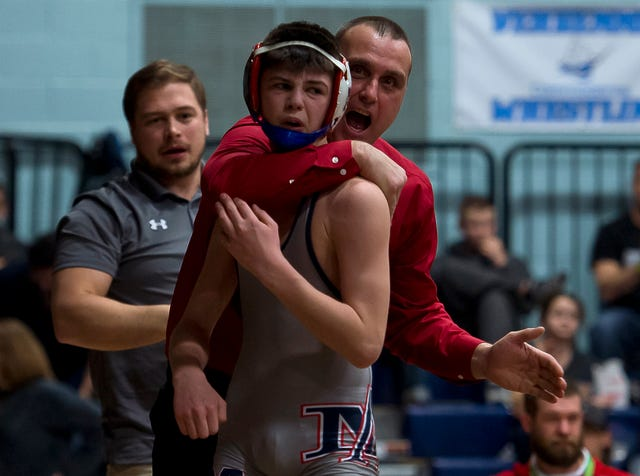 Vermont wrestling: Mount Anthony pads record with 31st straight crown