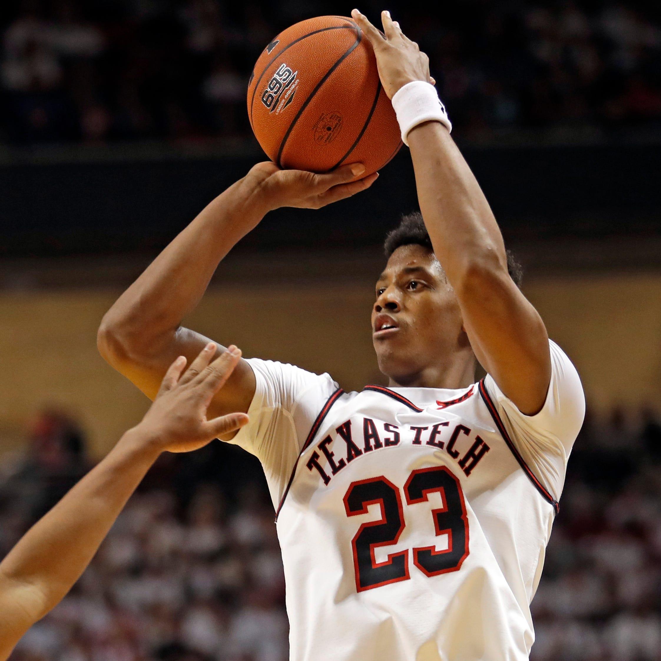 Big 12 Basketball: No. 14 Texas Tech pounds No. 12 Kansas