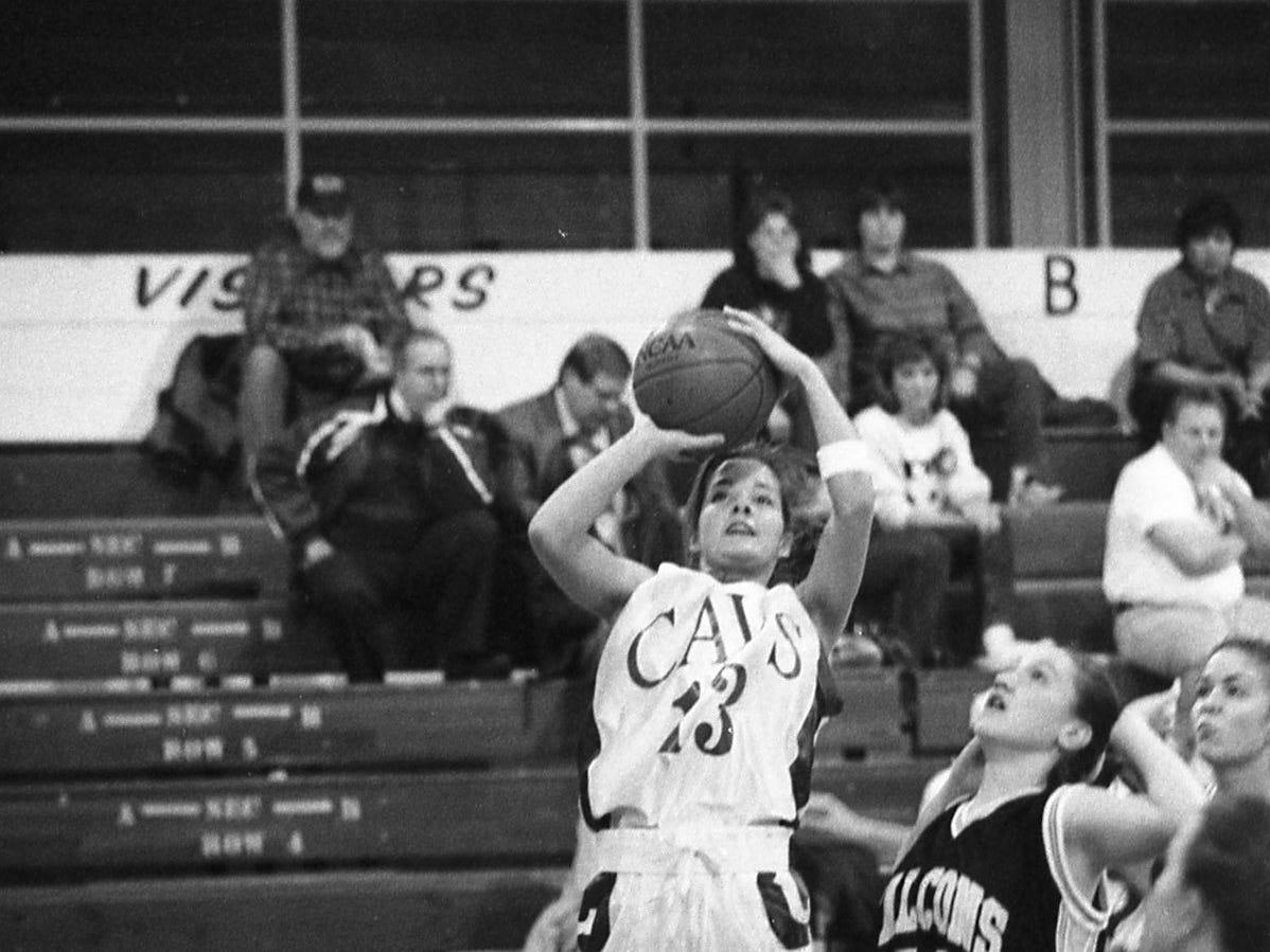 Chillicothe girls basketball January 1999.