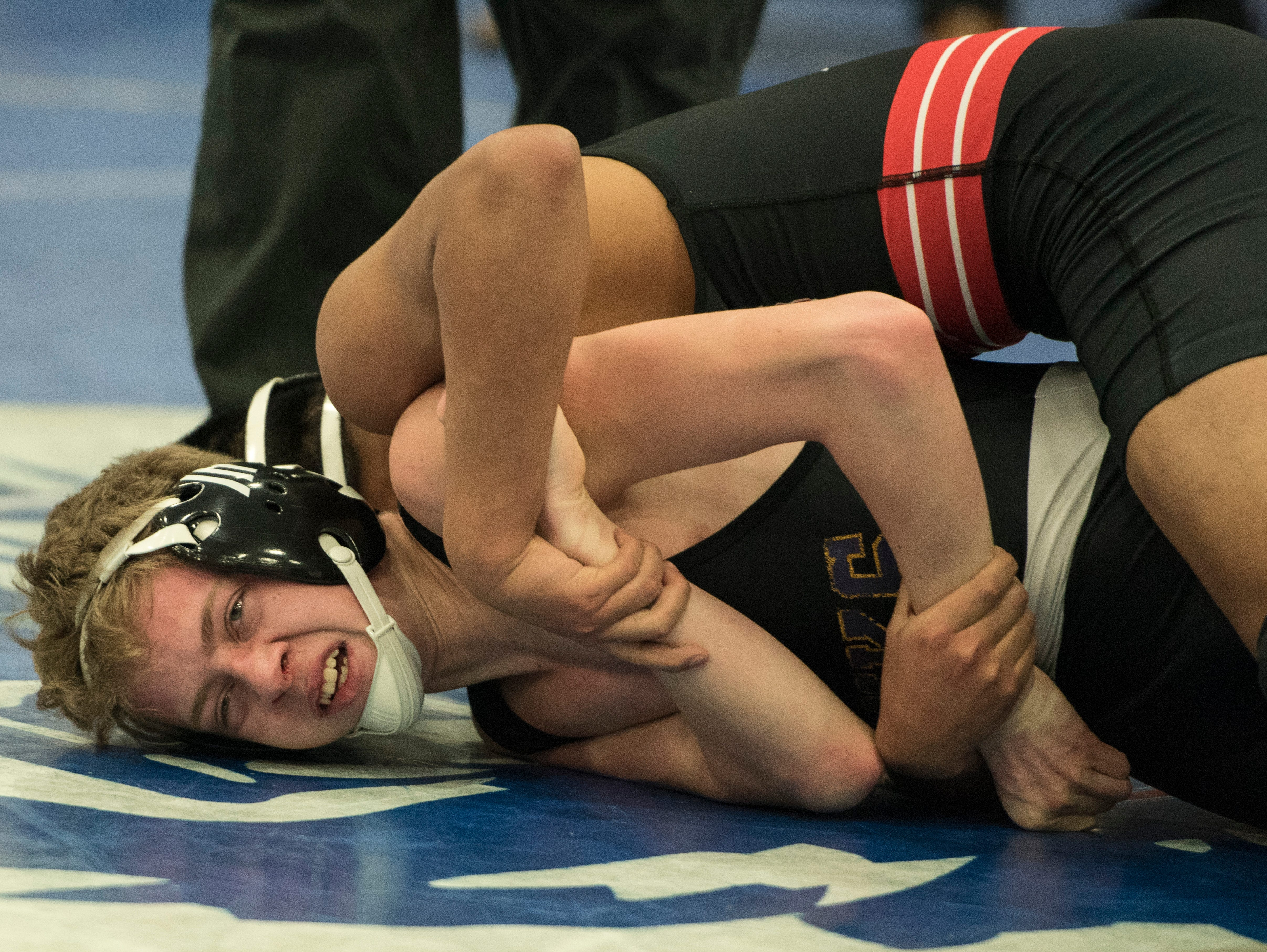 Unioto, Waverly, Westfall, and Zane Trace wrestlers competed in a Division II sectional tournament at Washington Courthouse on Saturday, Feb. 23, 2019.