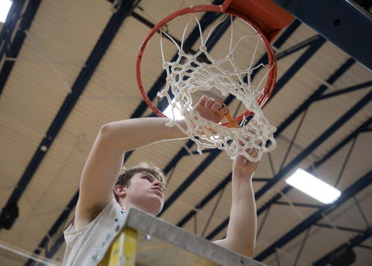Zane Trace defeated Hillsboro 51-48 Saturday night in a Division II sectional final at Southeastern High School. The Pioneers will go on to face the Athens Bulldogs at Ohio University on Thursday, Feb. 28, 2019.