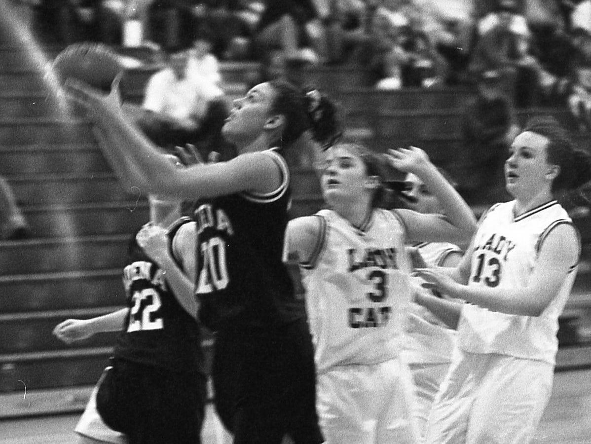 Adena girls basketball February 1999.