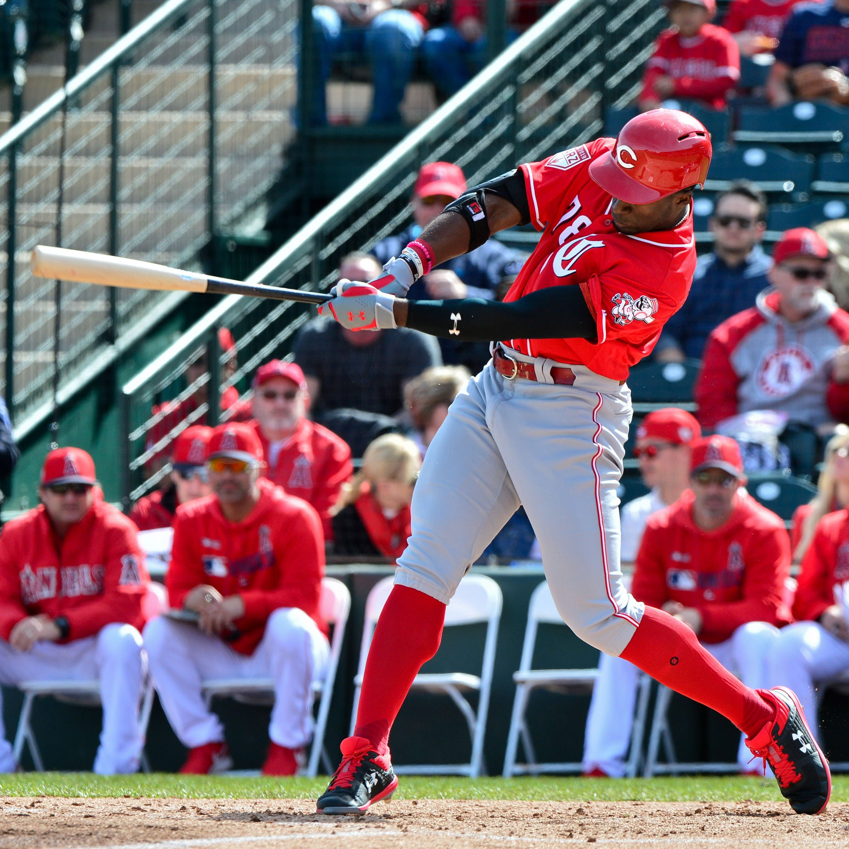 Trammell is the youngest and one of the most talented players in Cincinnati Reds camp
