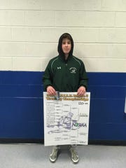 South Plainfield Anthony White after winning Region 5