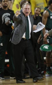 Tom Izzo and the Spartans ended a three-game rivalry losing skid against Michigan on Sunday.