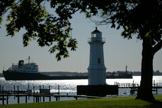 The Grosse Ile Lighthouse on Oct. 6, 2004