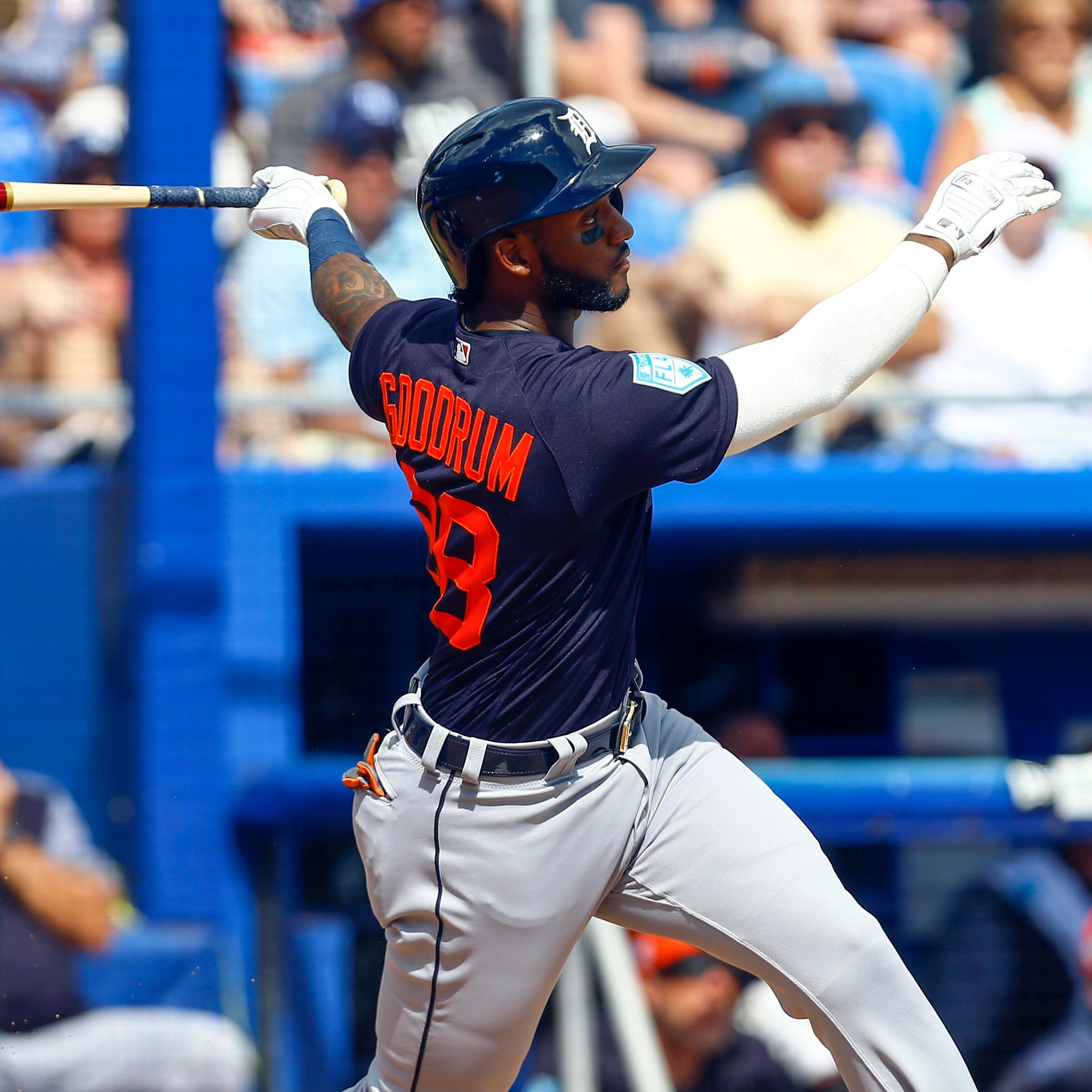 Detroit Tigers observations: Niko Goodrum has big day at the plate