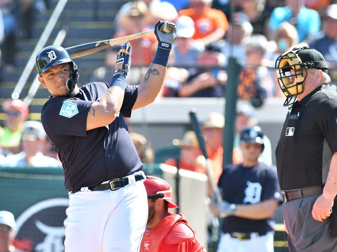 Miguel Cabrera homered again Saturday and he looks ready for a big season.