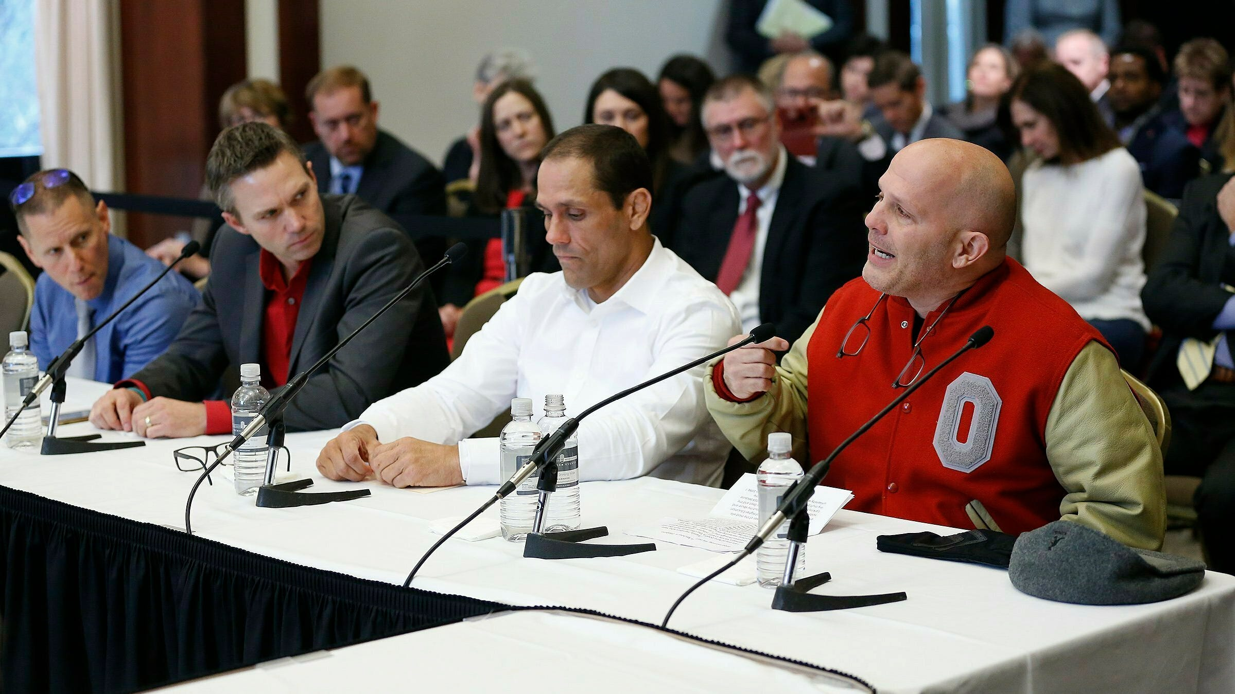 Of the 150-plus men alleging two decades of sexual misconduct by a former Ohio State team doctor, ex-wrestler Mike DiSabato has been the loudest.