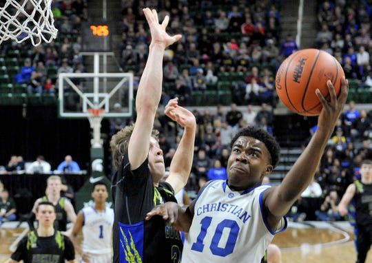 Jon Sanders (10) has Southfield Christian back in the state title hunt, despite the team losing two starters who transferred.