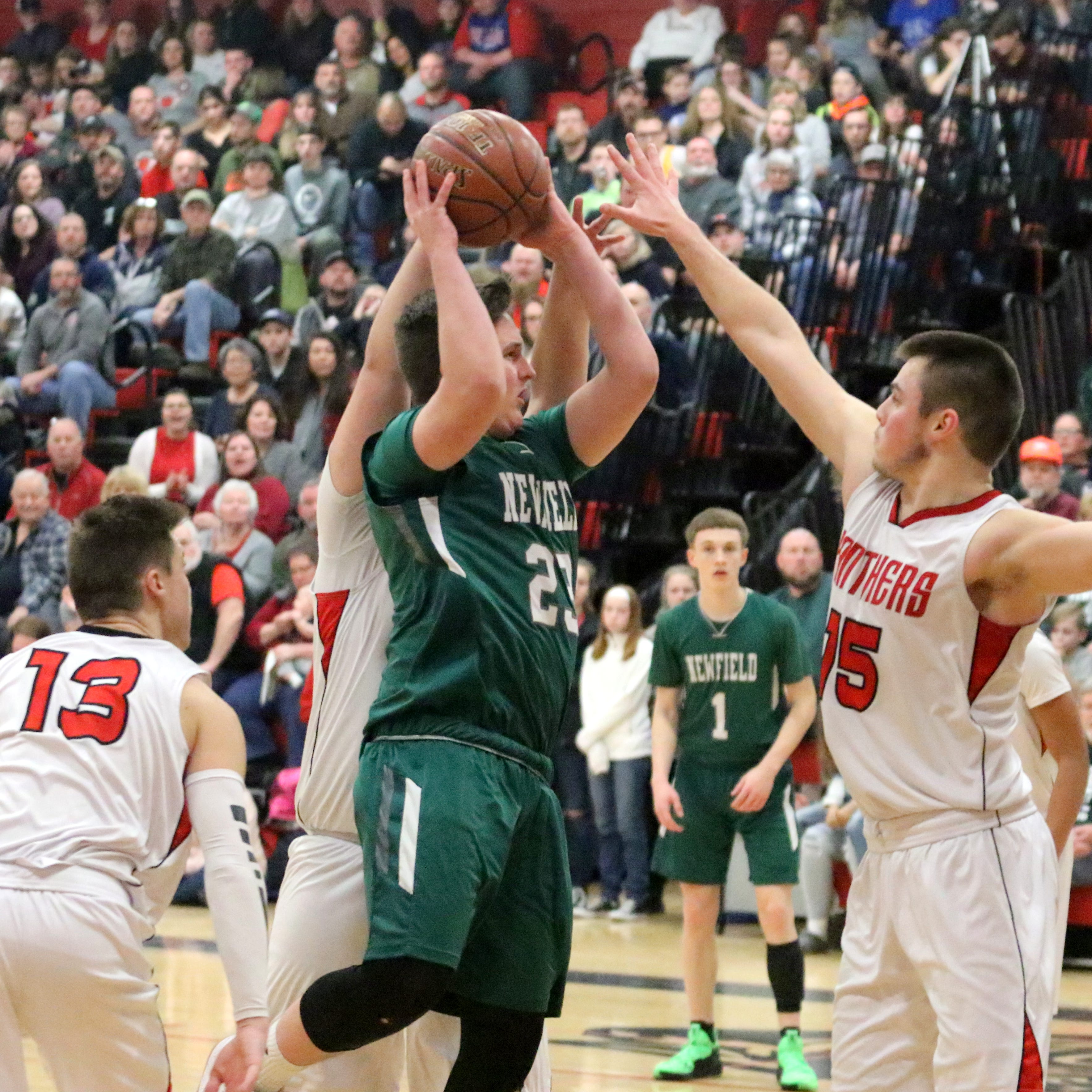 Class C boys basketball: Newfield beats S-VE for third time to advance to semis