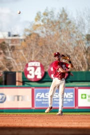 Florida State senior Mike Salvatore is looking to provide a spark with his defense at second base.