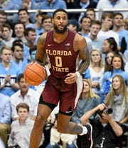 Florida State redshirt senior forward Phil Cofer had just two points and four rebounds during the Seminoles 77-59 loss to North Carolina at the Dean E. Smith Center.