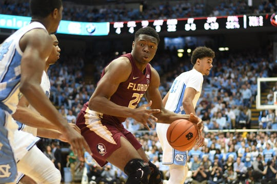 North Carolina's relentless defense was able to effectively shutdown FSU redshirt sophomore forward Mfioundu Kabengele, as the Seminoles were held to their second lowest scoring total on the season.