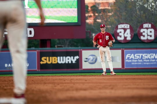 Second Baseman Mike Salvatore may be candid on his own success thus far this season but what stands out is his confidence in the group of young players that he gets to lead.