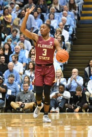 Florida State junior point guard Trent Forrest scored six points and grabbed four rebounds during the Seminoles loss to North Carolina at the Dean E. Smith Center on Saturday.