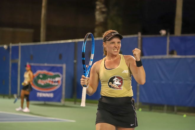Florida State top singles player Carla Touly has been driven by her teammates and future aspirations.