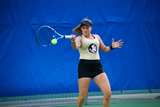 Florida State junior Carla Touly has elevated her game to another level this year.