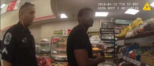 A Lehigh Acres man who said twoFort Myers police officers,  James Barlow and Chris Robles, wrongfully tased and arrested him last April has filed a federal civil rights lawsuit against themen and the department. The two officers can be seen in video from their body cameras questioning Holley Delton Jones, 42, at a 7/Eleven on April 15, 2018, and then later shooting him with a Taser.