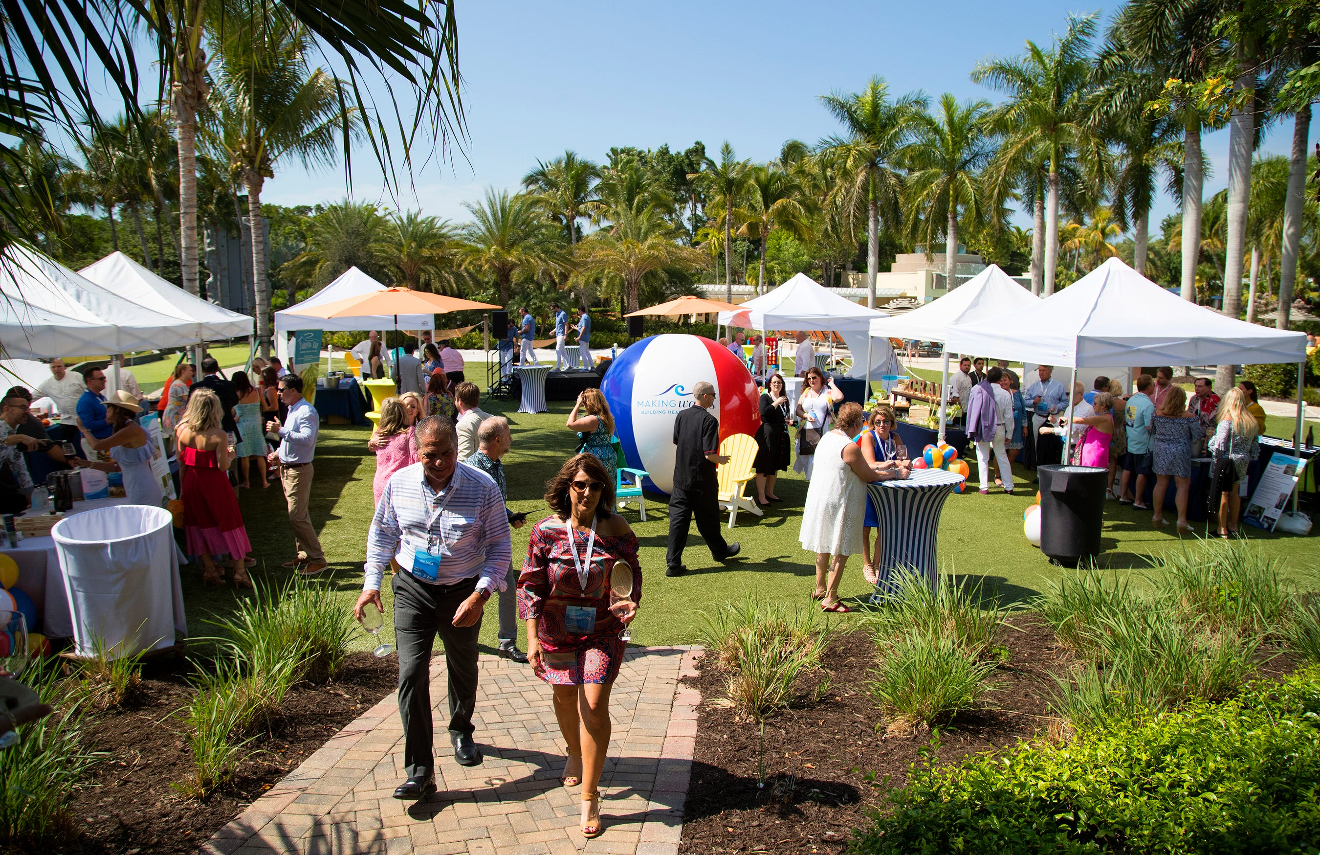 The Southwest Florida Wine & Food Fest was held at the Hyatt Regency Coconut Point Resort in Bonita Springs. The annual event supports programs addressing children's mental and behavioral health needs.