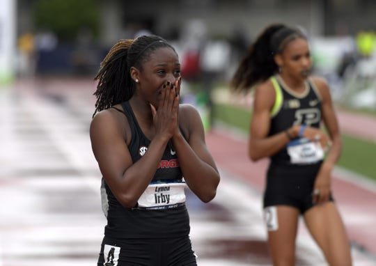 FILE –  Former Pike star Lynna Irby continues to shine for Georgia.