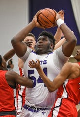 Ben Davis big man Dawand Jones is a force in the middle for the Giants.