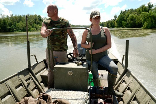 A road that began with depression eventually led Ashley Jones of Brandon to become a member of the cast of the television series Swamp People.