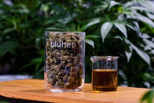 Blühen Botanicals hemp flower and extracts